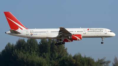 A picture of VPBRL - Boeing 75728A - Royal Flight - © Vicknesh PS