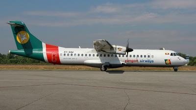 XY-AIM - ATR 72-212 - Yangon Airways