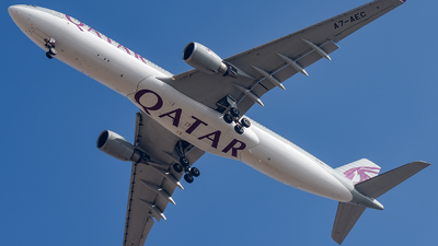 A7-AEC - Airbus A330-303 - Qatar Airways