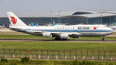 A picture of B2482 - Boeing 74789L - Air China - © Pang Fa-lan