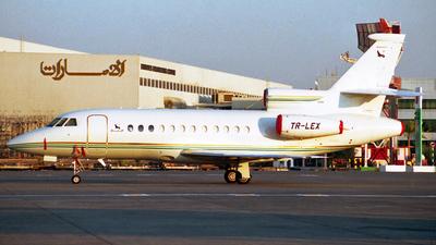 TR-LEX - Dassault Falcon 900EX - Gabon - Government
