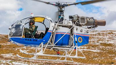 AEE-314 - A�rospatiale SA 315B Lama - Ecuador - Army