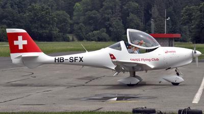 HB-SFX - Aquila AT01 - Swiss Flying Club