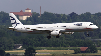 A picture of SXDGT - Airbus A321231 - Aegean Airlines - © Domi Einert
