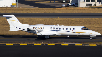 ZS-AJD - Bombardier Learjet 45 - Private