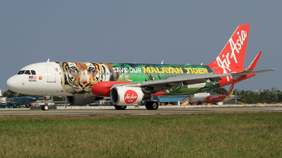 A picture of 9MAQZ - Airbus A320216 - AirAsia - © Duc Thinh