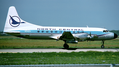 N3423 - Convair CV-580 - North Central Airlines