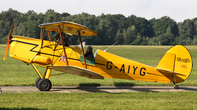 G-AIYG - Stampe and Vertongen SV-4B - Private