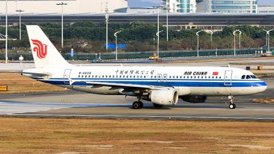 B-6608 - Airbus A320-214 - Air China