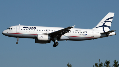 A picture of SXDVL - Airbus A320232 - Aegean Airlines - © PAUL LINK