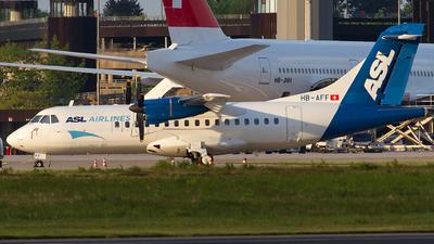 HB-AFF - ATR 42-320 - ASL Airlines
