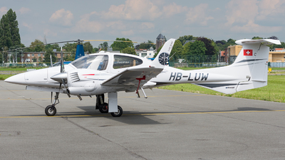A picture of HBLUW - Diamond DA42 Twin Star - [42.246] - © J.Evrard-AirTeamImages