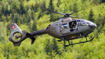 T-357 - Eurocopter EC 635P2 - Switzerland - Air Force