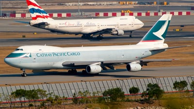 B-HVY - Boeing 747-236F(SCD) - Cathay Pacific Cargo