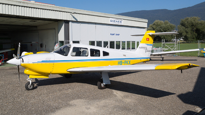 A picture of HBPKX - Piper PA28RT201 - [28R8331032] - © Fabian Zimmerli