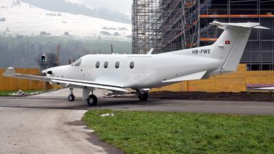 HB-FWE - Pilatus PC-12/47E - Pilatus Aircraft