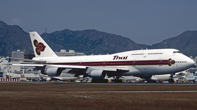HS-TGD - Boeing 747-3D7 - Thai Airways International