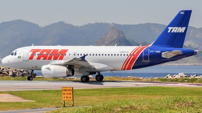 PT-TMD - Airbus A319-132 - TAM Linhas Aéreas