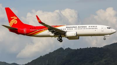 B-5775 - Boeing 737-87L - Shenzhen Airlines