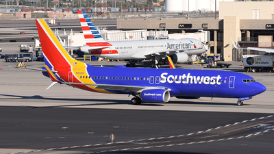 A picture of N8326F - Boeing 7378H4 - Southwest Airlines - © DJ Reed - OPShots Photo Team