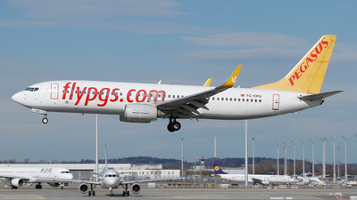 A picture of TCCPG - Boeing 73782R - Pegasus Airlines - © Jan Seler