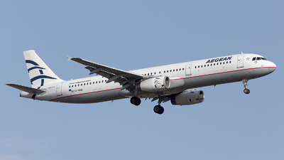 A picture of SXDGQ - Airbus A321231 - Aegean Airlines - © Oksana