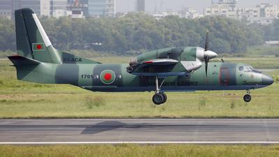 1701 - Antonov An-32A - Bangladesh - Air Force