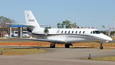 PP-SVG - Cessna 680 Citation Sovereign - Private