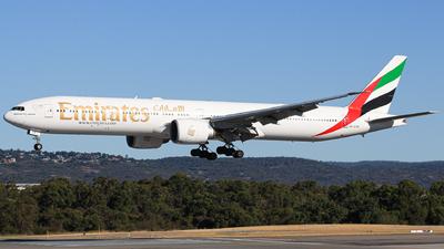 A picture of A6ECK - Boeing 77731H(ER) - Emirates - © HillsJayden