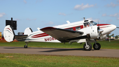 N408BK - Beech D18 - Private