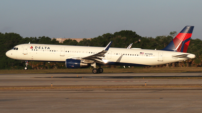 A picture of N376DN - Airbus A321211 - Delta Air Lines - © James Bruno