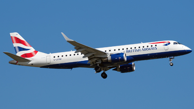 G-LCYM - Embraer 190-100SR - BA CityFlyer