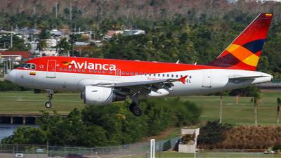 N591EL - Airbus A318-111 - Avianca