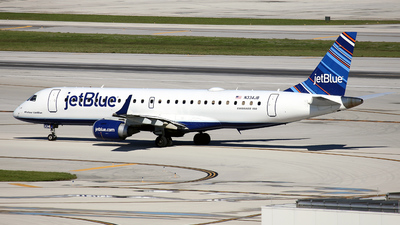 N334JB - Embraer 190-100IGW - jetBlue Airways