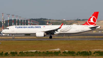 A picture of TCLSP - Airbus A321271NX - Turkish Airlines - © MBekir CKMK