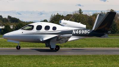 N469BC - Cirrus Vision SF50 - Private