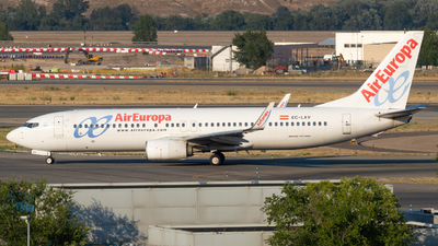 A picture of ECLXV - Boeing 73785P - Air Europa - © Mateo León