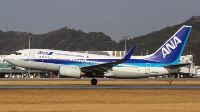 A picture of JA18AN - Boeing 737781 - All Nippon Airways - © Koki.Ishida