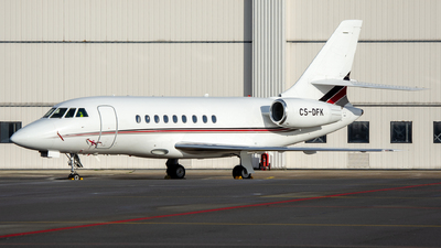 A picture of CSDFK - Dassault Falcon 2000EX - NetJets - © Dutch