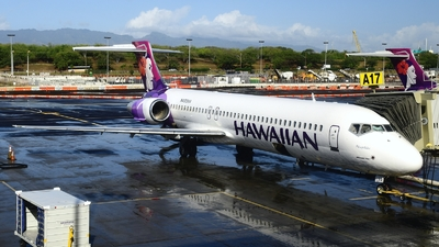 N495HA - Boeing 717-2BL - Hawaiian Airlines