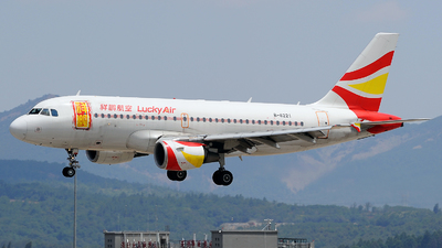 B-6221 - Airbus A319-112 - Lucky Air