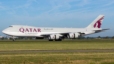 A7-BGA - Boeing 747-87UF - Qatar Airways Cargo