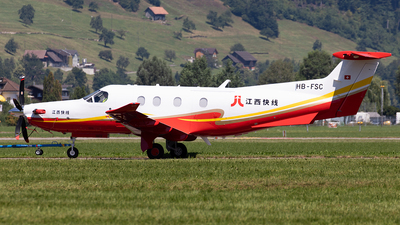 A picture of HBFSC - Pilatus PC12/47E -  - © Alexandre Fazan
