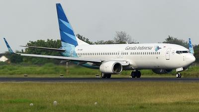 PK-GNA - Boeing 737-8U3 - Garuda Indonesia