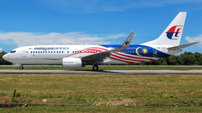 9M-MXD - Boeing 737-8H6 - Malaysia Airlines