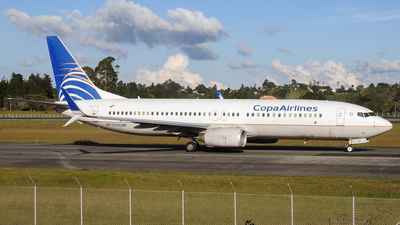 HP-1722CMP - Boeing 737-8V3 - Copa Airlines