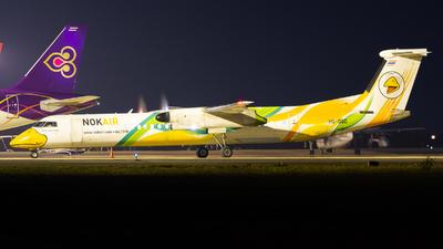 A picture of HSDQD - De Havilland Canada Dash 8400 - Nok Air - © Amarase Pamarapa