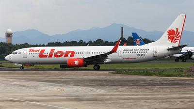 HS-LTK - Boeing 737-9GPER - Thai Lion Air