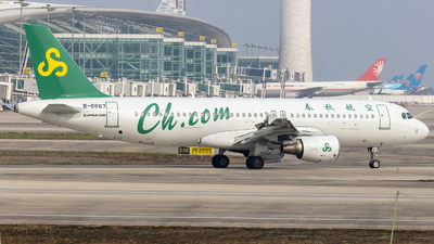 B-6667 - Airbus A320-214 - Spring Airlines