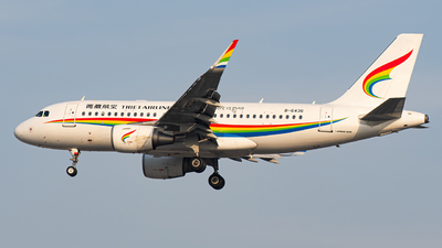 A picture of B6436 - Airbus A319115 - Tibet Airlines - © Janson Button